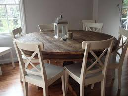rustic round dining table. Large Rustic Farmhouse Dining Table Round Decorative Room Tables White S