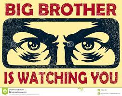 Big Brother Watching You Spying Eyes ...