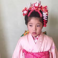 七五三 七歳 新日本髪 Amarigeアマリージェ 柏市 逆井 美容室 美容院