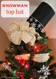 this snowman tree topper for christmas is the ultimate holiday decor for your tree it s