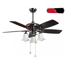 redwin from purline by klassfan a reversible black nickel plated ceiling fan black