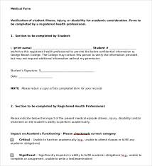 Doctors Note Template - 9+ Free Sample, Examples & Format | Free ...