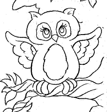 Small Picture Cute Owl Coloring Page Free Gianfredanet