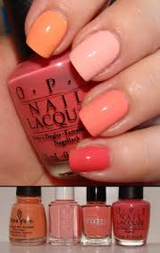 DIY :: Peach Coral Ombre by #beautopia :: Index to Pinky: China