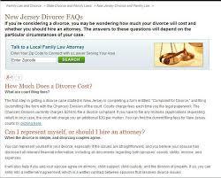 sample divorce papers   resumed job