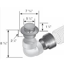 pop up drainage emitter with elbow corrugated pipe adapter 6
