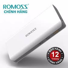 Pin sạc dự phòng Romoss Sense 6P 20.000mAh (Trắng) màn hình LED - Hãng phân  phối chính thức (PT): Mua bán trực tuyến Pin sạc dự phòng với giá rẻ