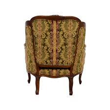 Burgundy Accent Chair 54 Off Drexel Heritage Drexel Heritage Bergere Green Gold And