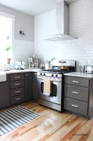 Two Tone Cabinets In Small Kitchen Kitchen Appliances Tips And Review