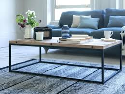 coffee table industrial style diy