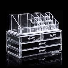 homdox 12 lipstick holder acrylic cosmetic organizer drawer 3 tiers makeup case storage insert holder box designer handbags satchel from storagebag001