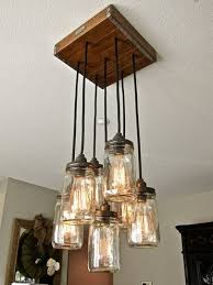 mason jar lighting. more diy mason jar lighting ideas