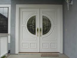 white front doorswhitedoubleexteriordoors  Painting Double Exterior Doors