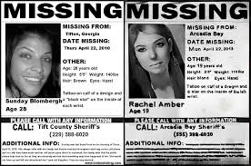 Missing Person Poster Template Inspiration ALL] Rachel's Missing Poster Is Based On A Reallife One