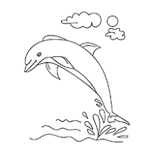 Cut out and color this dolphin printout for your homemade ocean mobile. Top 20 Free Printable Dolphin Coloring Pages Online