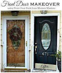 entry doors near me. front door makeover with modern masters paint in elegant black-www.goldenboysandme entry doors near me b