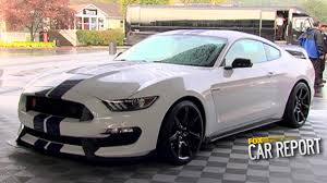 FOX Car Report - Test Drive: 2015 Mustang Shelby GT350 - YouTube