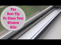 around our home best tip to clean your window sills may 2017