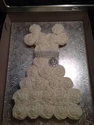Wedding Dress Cupcake Cake Bridal Shower CakeCentral