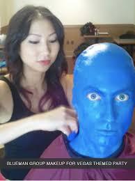 maria lee fx makeup san francisco blue man
