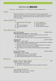 Developer Resume Template New Resume Template Zety Free Resume
