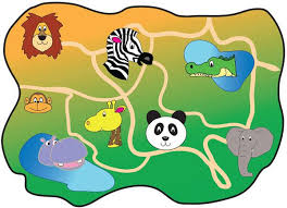 simple zoo map for kids. Exellent Simple Zoo MapA Map Of A Fictional Zoo Ideal For Early Years Role Play Intended Simple Map For Kids Pinterest
