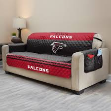 Falcons Quilted Sofa Cover & Atlanta Falcons Quilted Sofa Cover Adamdwight.com