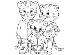 Small Picture daniel tiger coloring pages printable coloring Pages Pinterest