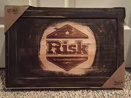 Risk Board Game Wooden Box Rustic Risk Board Game eBay 3