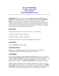 Landman Resume Examples Free Resume Example And Writing Download