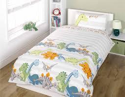 dinosaurs natural junior duvet cover and pillowcase set co uk kitchen home