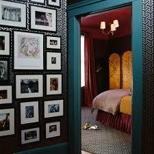 Image Above: A Peek Into The Sumptuous Jewel Tones Of Caitlin Moranu0027s  Bedroom.