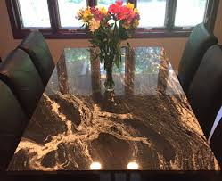 custom made stone table tops in milwaukee southeast wisconsin