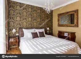 Luxe Slaapkamer Interieur Stockfoto Jrpstudio 143740947
