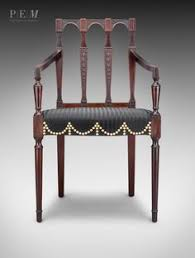 armchair unknown maker carved by samuel mcintire m ma 1801