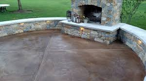 stained concrete patio. Fine Patio Stained Concrete Patio Surface And Design Burlington KY   By Decorative In Patio D