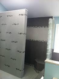 Bathroom Partition Walls Small Bathroom Design Ideas Alongside Grey Ceramic Textile Tile