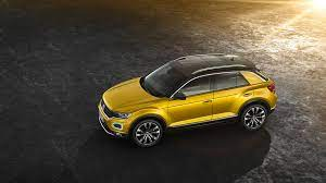 Volkswagen Shrinks And Sharpens Its Suv Lineup With All New T Roc Volkswagen Small Suv Best Suv