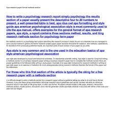 Apa Research Paper Template Bostonwineweek