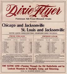 dixie flyers docum dixie flyer train trains railroad streetcars stations terminals
