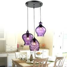 vintage bohemian chandelier multi colored glass