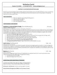 Retail Resume Description Resume Retail Resume Description