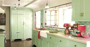 green kitchen cabinets mint green kitchen cabinet for shabby chic kitchen ideas with white ikea lime