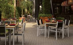 Restaurant Commercial Outdoor Furniture Oxford Garden