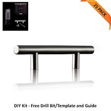 cabinet handles. Kitchen Cabinet Handles (Stainless Steel) - 25 Pack Of Brushed Nickel Door  Pulls, Cabinet Handles R