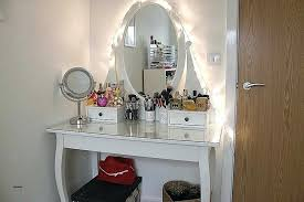 makeup vanity with mirror and lights home ideas light bulbs for makeup vanity inspirational bedroom mirrors
