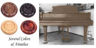 Royal Wood Piano Caster Cups Coasters