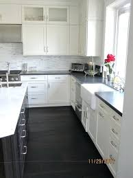 kitchens with white cabinets and dark floors. White Cabinets With Dark Granite Black  Cabinet Marble Modern Kitchen Floors Kitchens With White Cabinets And Dark Floors D