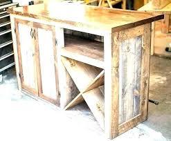 rustic wine bar stand alone cabinet liquor dry para barrel chandelier