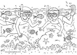 Summertime Coloring Pages Printable 2729101